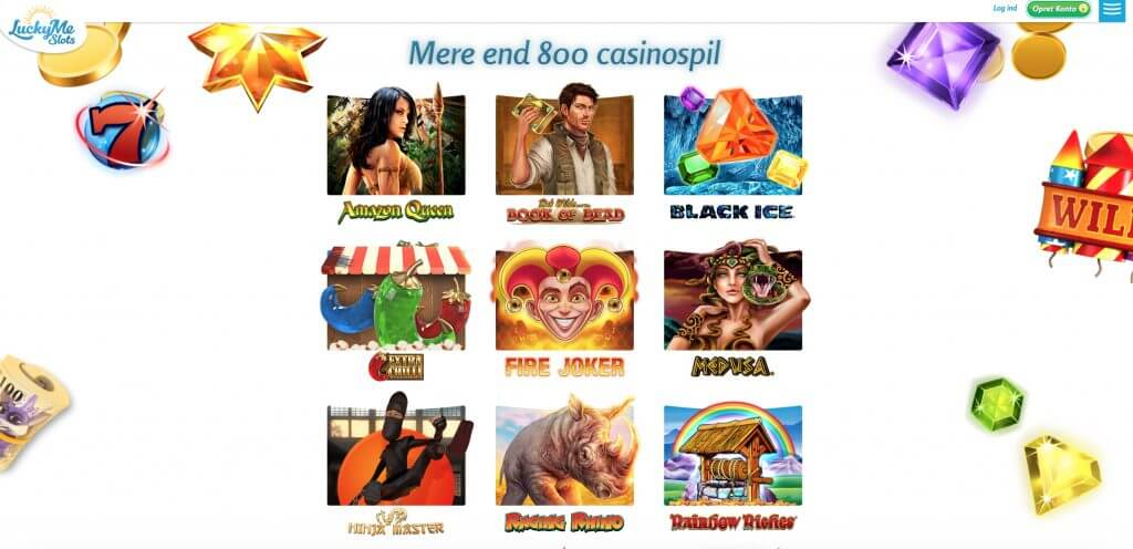 LuckyMeSlots Casinospil